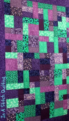 Jessica A's Yellow Brick Road Quilt