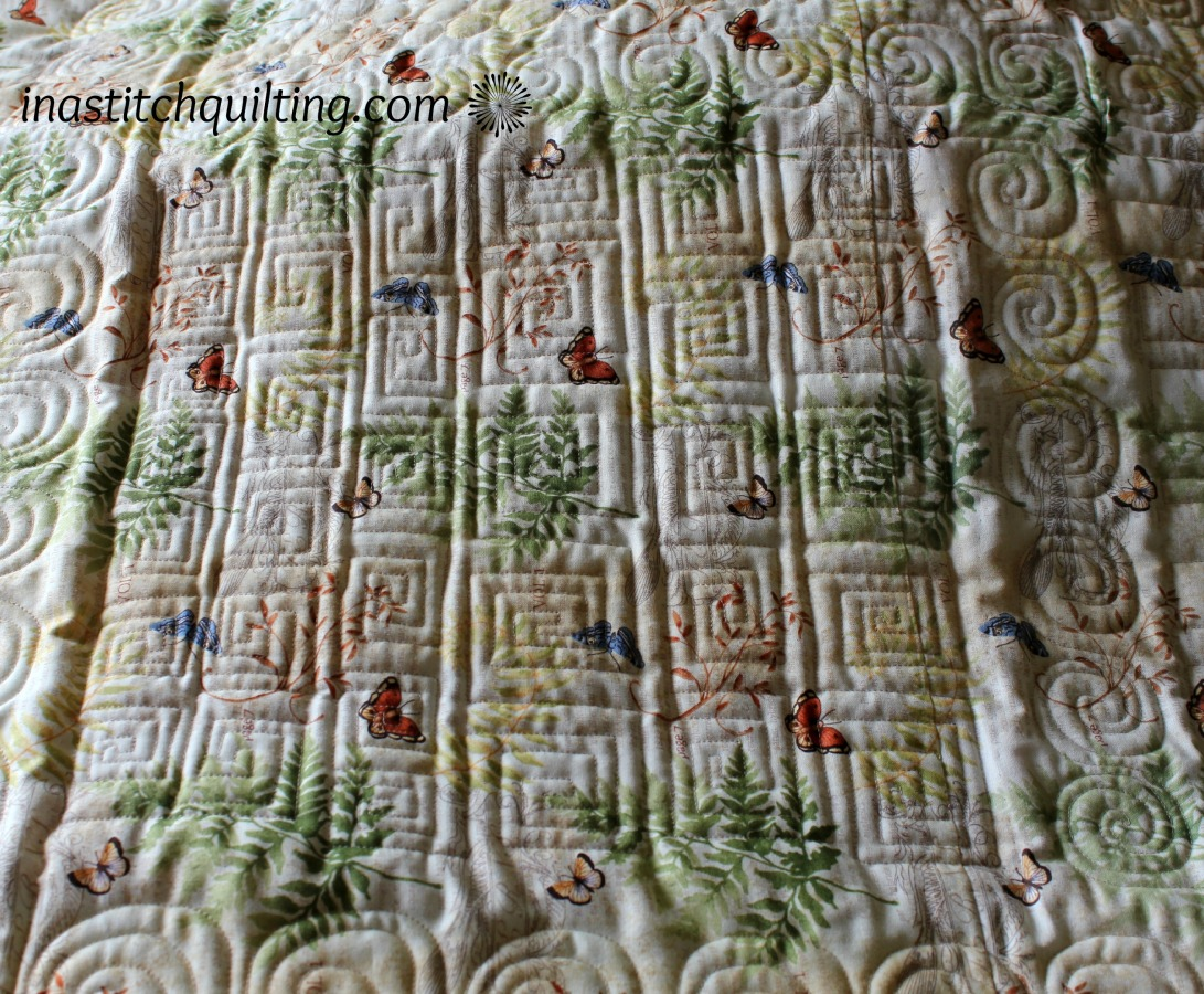 A Variety of Stitches on Deb G's Quilt