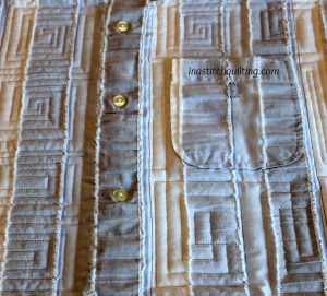 Deb G's Memory Quilt - Quilted by Cindy Anderson of In A Stitch Quilting