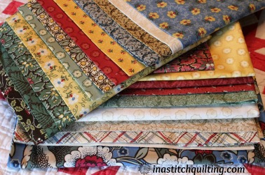 The Bundle of Fabrics Included in the BOM Kit