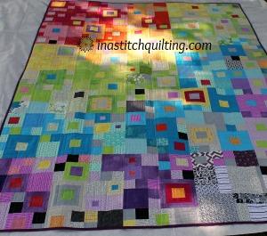 Jennys Rainbow Quilt