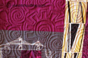 Miss M Quilt Stitch Sample
