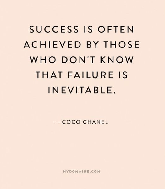 Success Is Often