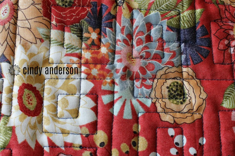 Another View From the Back of Tierney's Happy Ending Quilt