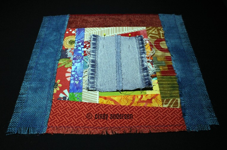 Art Quilt # 23: On The Fringe