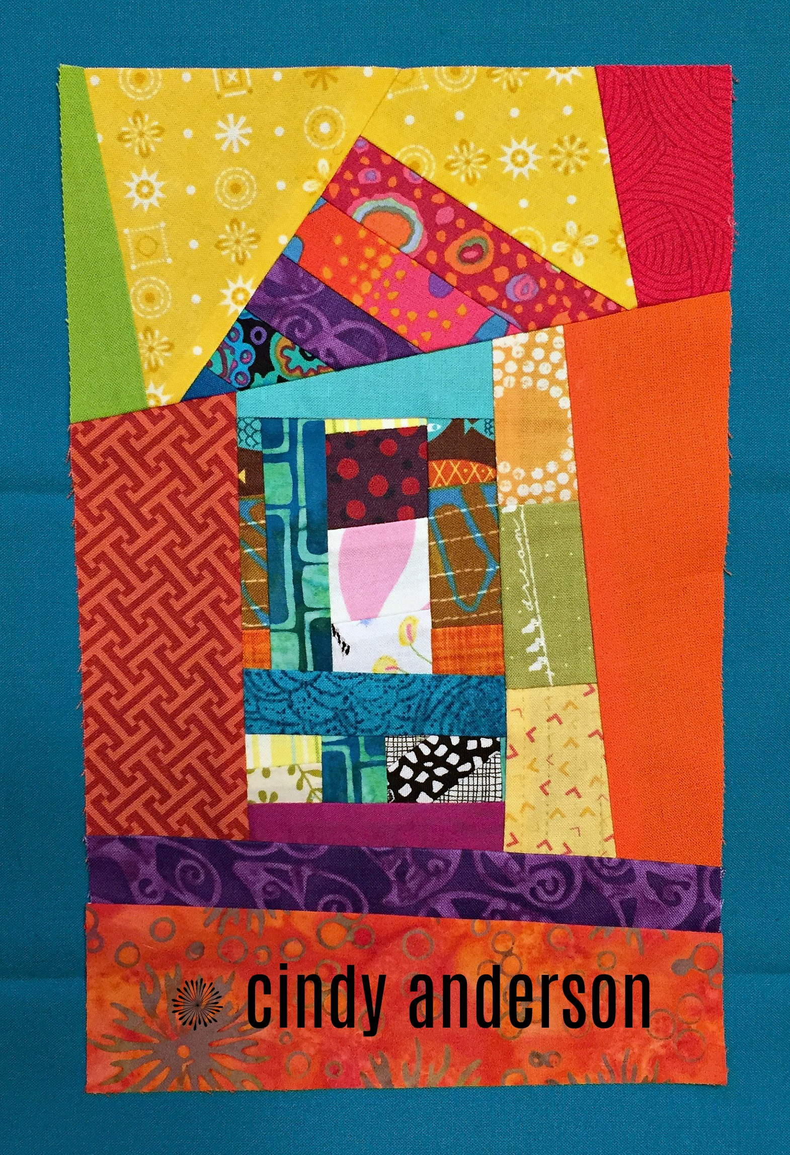 Art Quilt # 25: Towne House