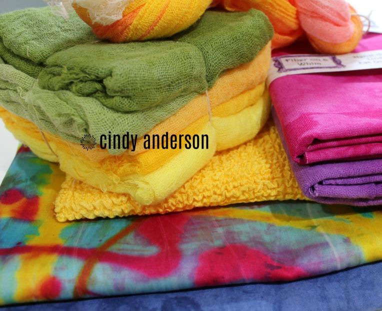 Fiber on a Whim Fabrics