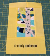 Art Quilt # 20: Rising Star
