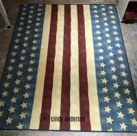 American Flag Picnic Blanket