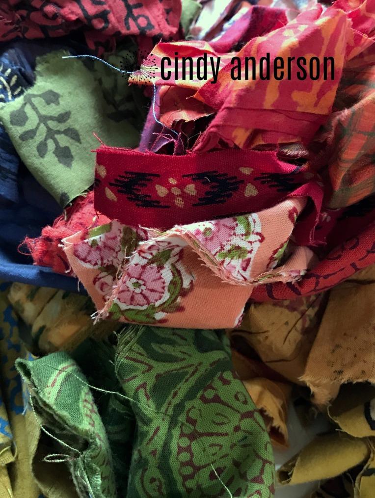 Handbloom Batik Scraps