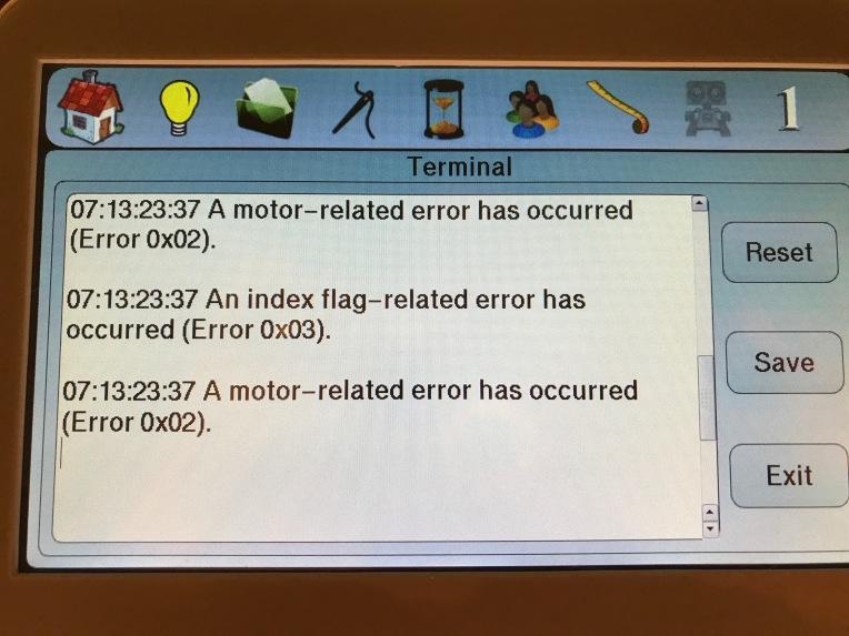 Tim Lizzie Error Message
