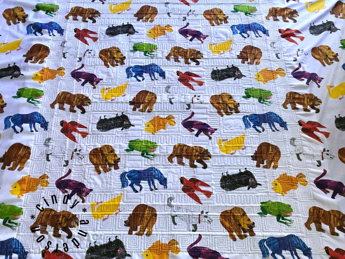 Karen's Brown Bear Quilt