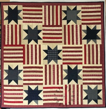 Stars and Stripes Table Quilt
