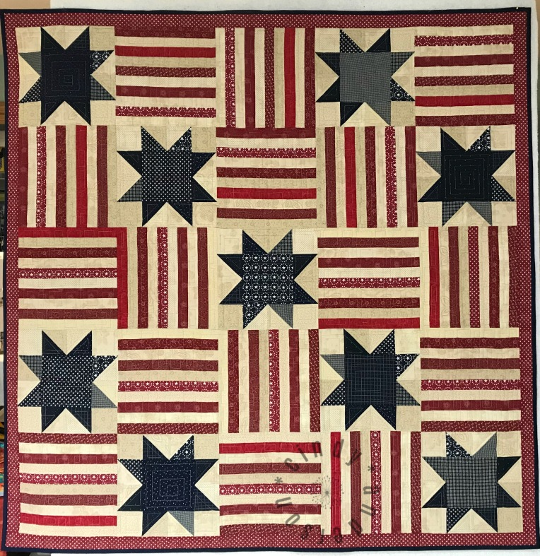Stars-and-Stripes-Table-Quilt