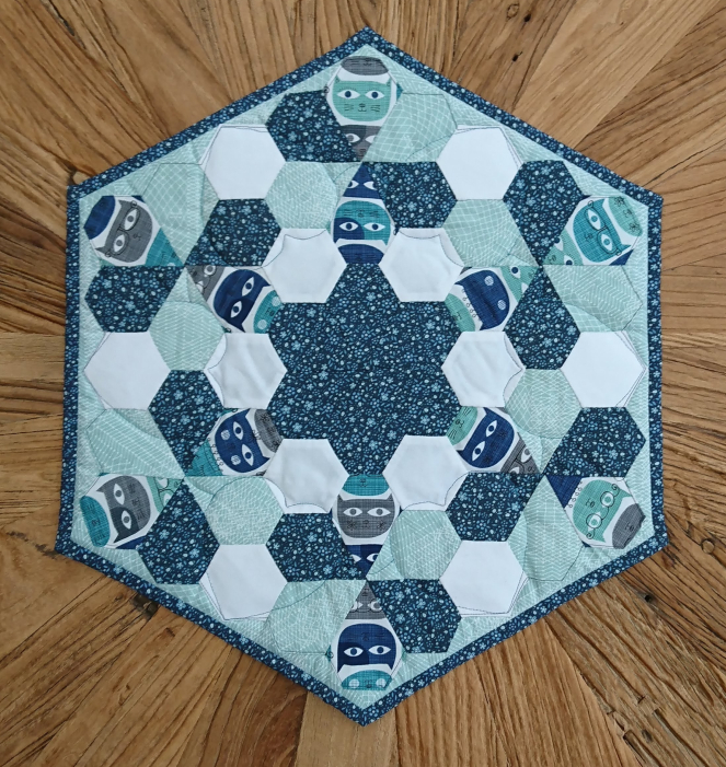 Michelle's Adorable Mystery QAL Table Topper